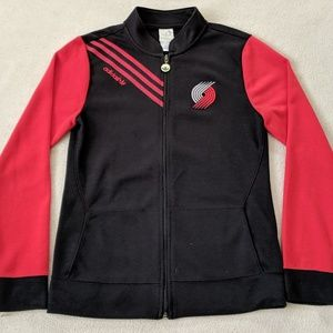 Retro Adidas Portland Trail Blazers Jacket Small